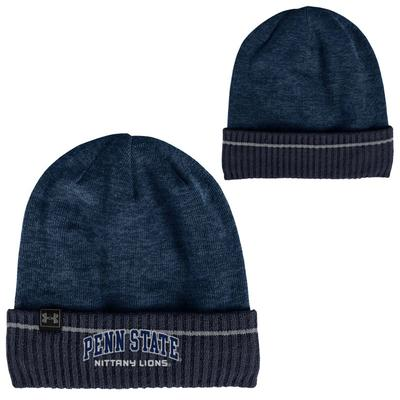UNDER ARMOUR - Penn State Under Armour Adult Element 3.0 Knit Sideline Hat