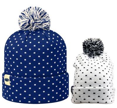 Top of The World - Penn State Knit Firn Hat