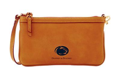 Dooney & Bourke - Penn State Dooney & Bourke Slim Brown Wristlet