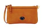 Penn State Dooney & Bourke Slim Brown Wristlet