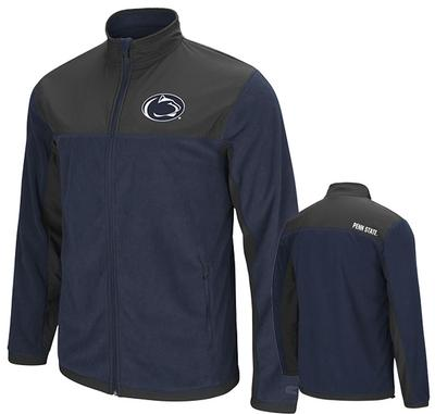 Colosseum - Penn State Men's Blocker Full-Zip Jacket