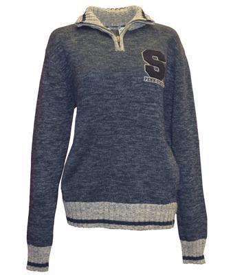 Bruzer - Penn State Men's Work Sock Sweater Quarter Zip