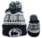Penn State Women's Snowy Pom Knit Hat