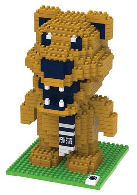 Forever Collectibles - Penn State 3D Nittany Lion Mascot BRXLZ