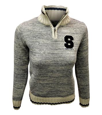 Bruzer - Penn State Women's Sweater Worksock Quarter Zip
