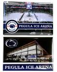 Penn State Hockey Magnet 2 Pack NAVYWHITE
