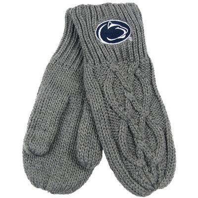 ZooZatz - Penn State Cable Knit Mittens
