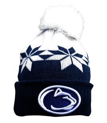 New Era Caps - Penn State Adult Wintry Cuff Knit Hat