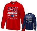 Penn State PSU Holiday Adult Crew Sweatshirt