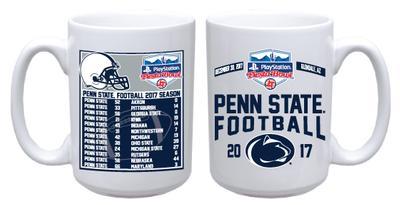 R.F.S.J. Inc. - Penn State Football Schedule Fiesta Bowl 15oz Mug