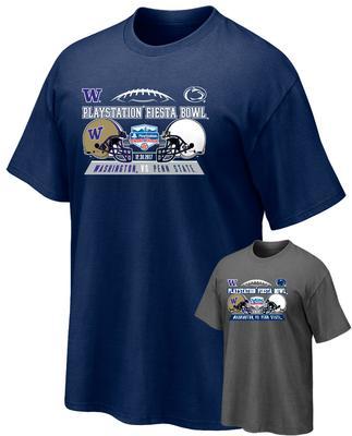 The Family Clothesline - Penn State Fiesta Bowl Team Helmets Adult T-Shirt