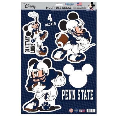Penn State Disney 11 X 17 Decal Sheet Souvenirs Car