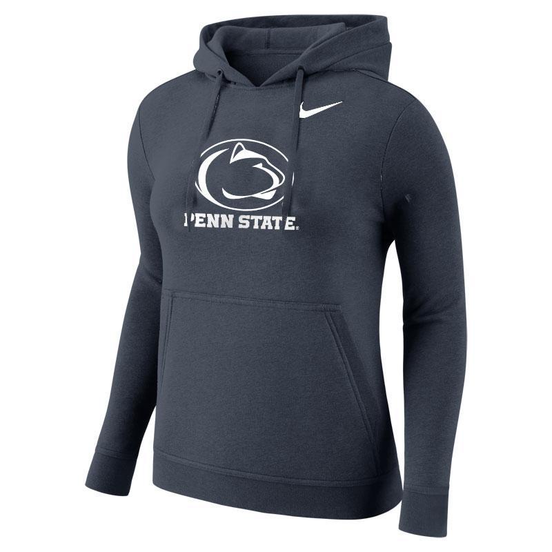 Penn State Nike Women s Fleece Hood NAVY ... 99f3a7863