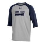 Penn State Under Armour Youth CC Baseball Long Sleeve GREY