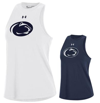UNDER ARMOUR - Penn State Under Armour Women's CC Taps Tank