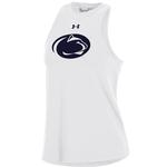 Penn State Under Armour Women's CC Taps Tank WHITE