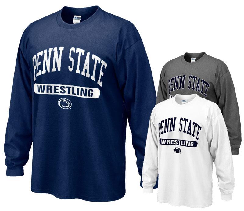 33e72056 Penn State Adult Wrestling Oval Long Sleeve | Sports > WRESTLING > EMPTY