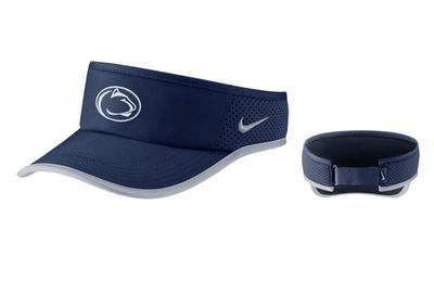 NIKE - Penn State Nike Adult Aerobill Featherlight Visor