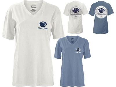 Press Box - Penn State Women's Midtown V-Neck T-shirt