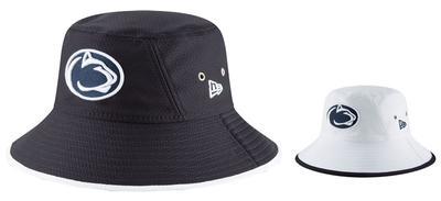 New Era Caps - Penn State Adult Hex Bucket Hat