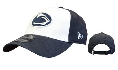 New Era Caps - Penn State Youth Core Classic Twill White Front Hat
