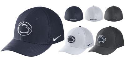 NIKE - Penn State Nike Adult Aerobill Mesh Hat