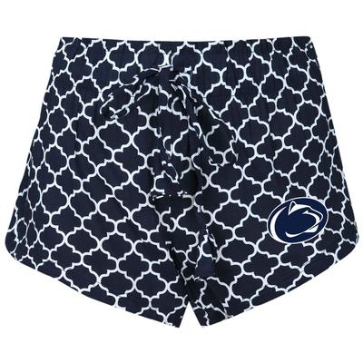 Concepts Sport - Penn State Women's Quatrafoil Slumber Shorts