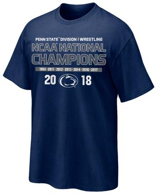 The Family Clothesline - Penn State 2018 National Wrestling Champions Adult T-Shirt
