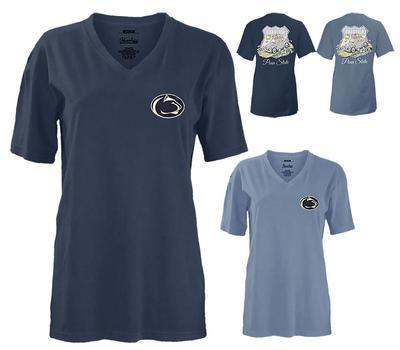 Press Box - Penn State Women's Roadtrip V-Neck T-Shirt