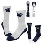 Penn State The Champ Crew Socks WHITENAVY
