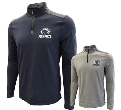 UNDER ARMOUR - Penn State Under Armour Men's Charged Cotton Quarter Zip