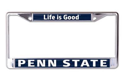 Wincraft - Penn State Life is Good Car Frame