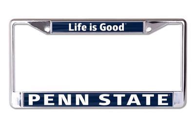 Penn State Life is Good Car Frame | Souvenirs > CAR