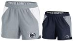 Penn State Under Armour Women's Playoff Shorts NAVY