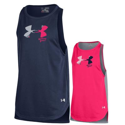 UNDER ARMOUR - Penn State Under Armour Youth Girls' Tech Tank