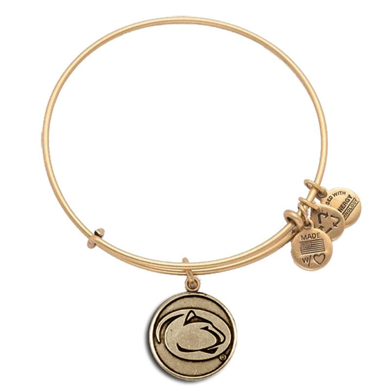 Penn State Alex Ani Mascot Charm Bangle Bracelet Gold
