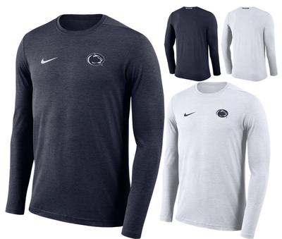 NIKE - Penn State Nike Men's Coach Dry Long Sleeve