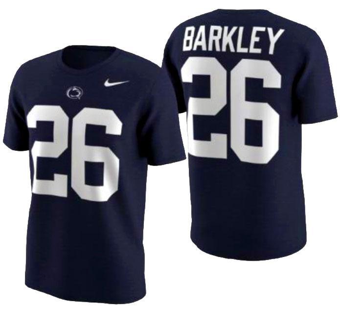 sale retailer b289c 3fcda Penn State Nike Saquon Barkley Jersey T-Shirt | Jerseys ...