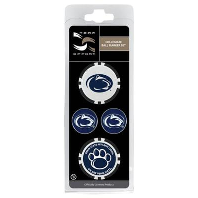 Wincraft - Penn State Golf Ball Markers 4 Pack