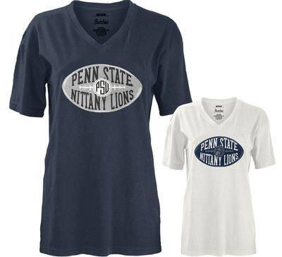 Press Box - Penn State Women's Kennedy V-Neck T-Shirt