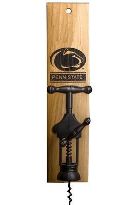 Timeless Etching Co. - Penn State Barrel Stave Wine Opener Mount