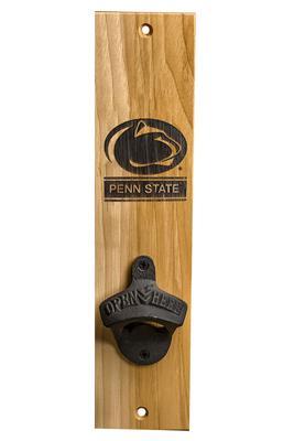 Timeless Etching Co. - Penn State Barrel Stave Bottle Opener Mount