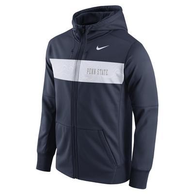 NIKE - Penn State Nike Men's Therma Full-Zip Hood