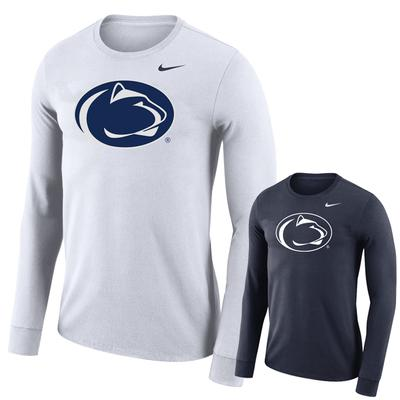 NIKE - Penn State Nike Men's Dry Logo Long Sleeve