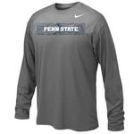 Penn State Nike Youth Sideline Long Sleeve DGREY