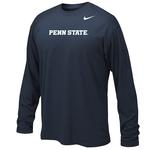 Penn State Nike Youth Sideline Long Sleeve NAVY