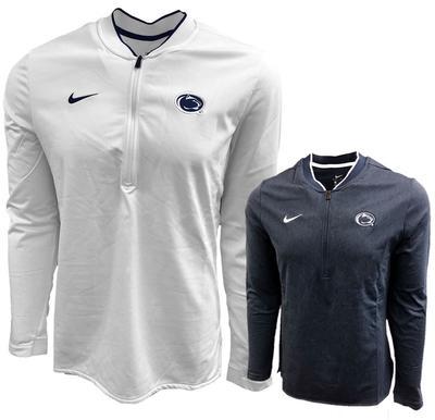 NIKE - Penn State Nike Men's Coaches Half-Zip Jacket