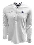 Penn State Nike Men's Coaches Half-Zip Jacket WHITE