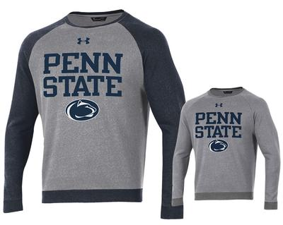 UNDER ARMOUR - Penn State Under Armour Men's Sportstyle Fleece Crew