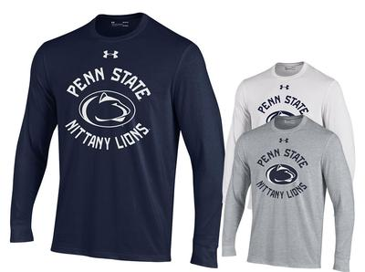 UNDER ARMOUR - Penn State Under Armour Youth Performance Long Sleeve